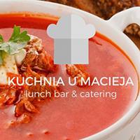 Menu Restauracji Kuchnia U Macieja Krakow W Zjemy Co